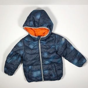 Snozu Toddler Boys Puffer Jacket Zip-Up Hooded